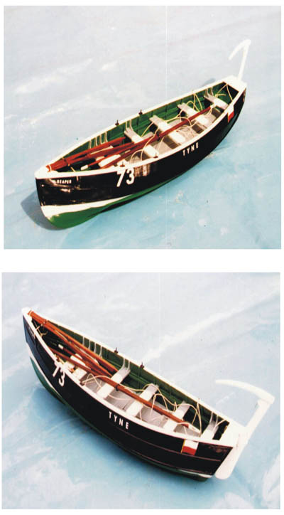 Pilot Coble Model made by George Ayre (Pilot)