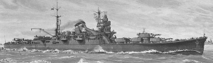 Japanese Heavy Cruiser 'Tone'